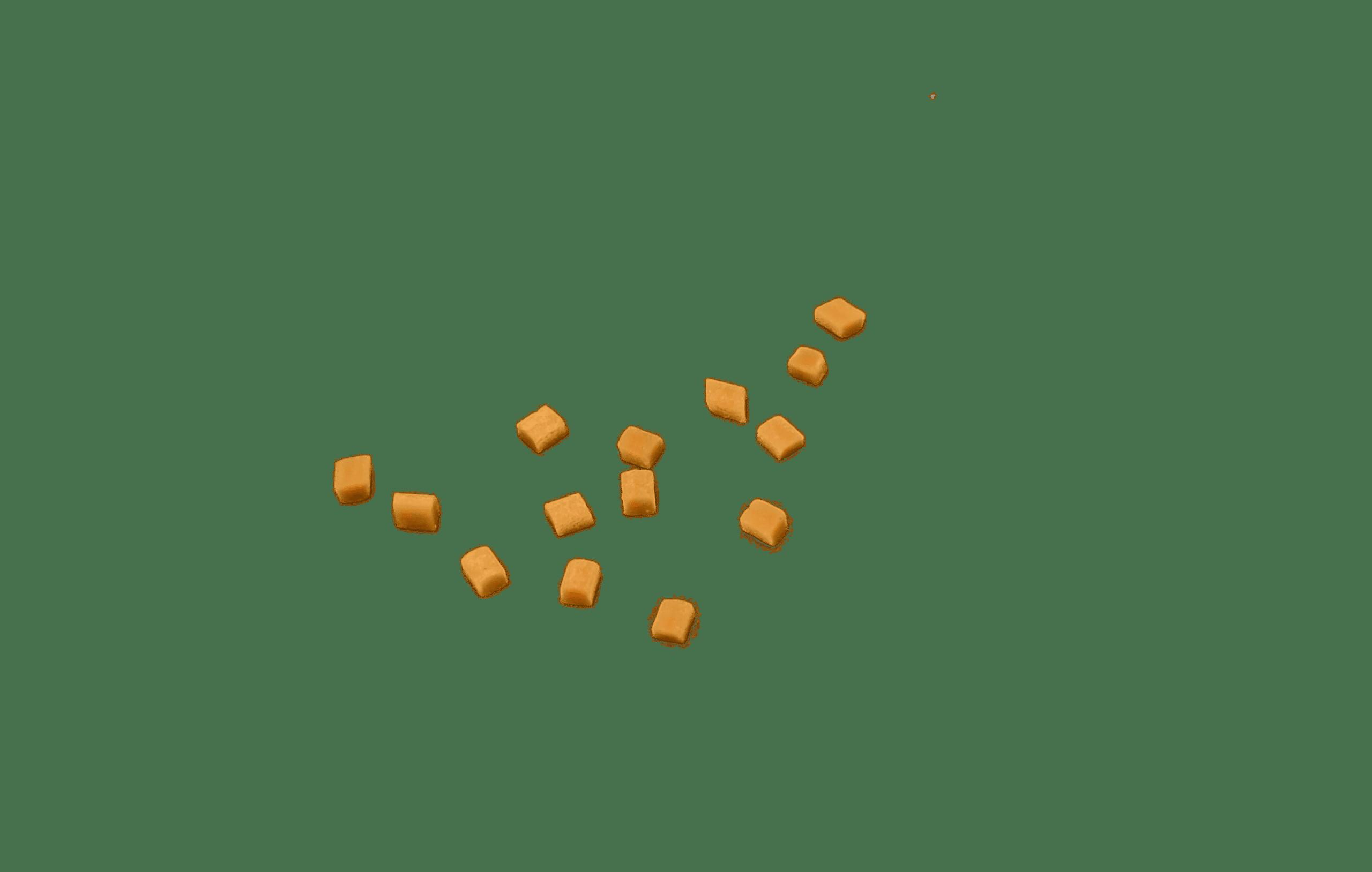 Karamel blokjes voor brownies per post versturen