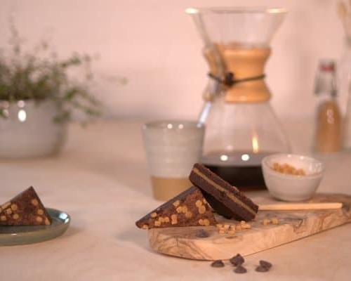 brownie per post karamel