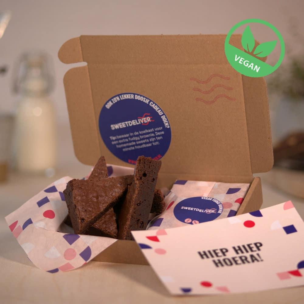 vegan brownies per post